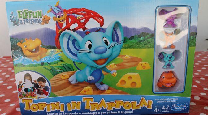 Topini in trappola, gioco avventuroso!!!