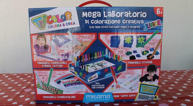 Il mega laboratorio di colorazione creativa di Mitama Tricolor