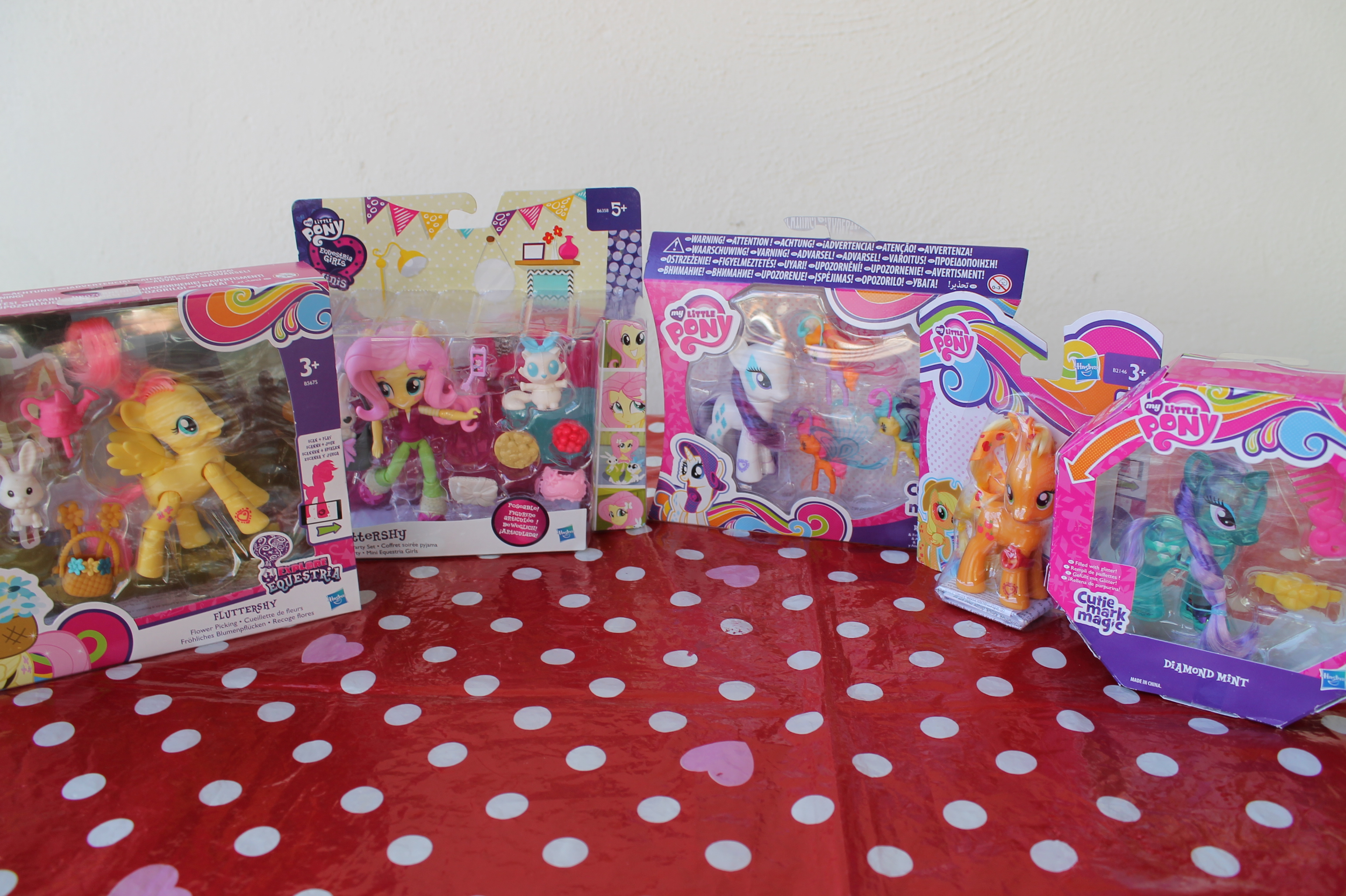 My little pony collezione Cutie mark magic e explore Equestria