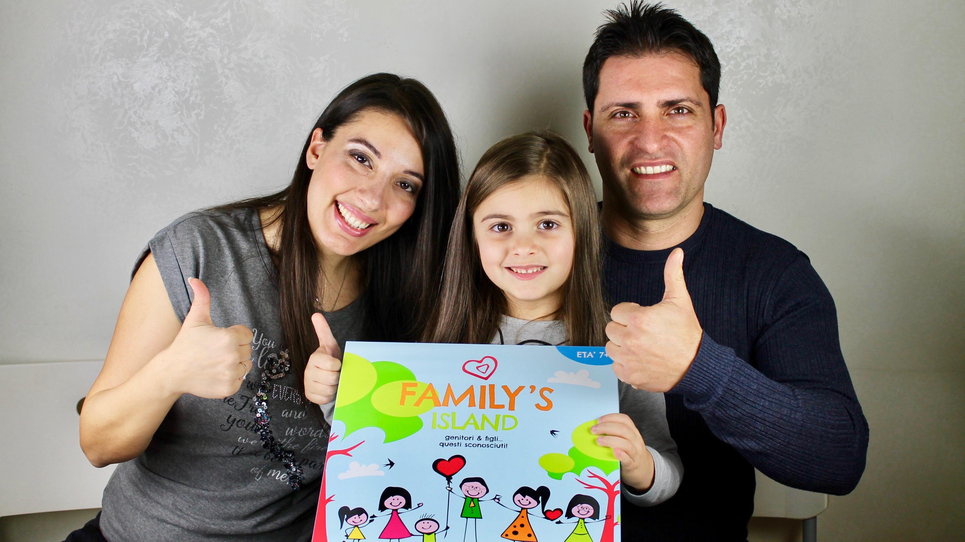 Family's Island un gioco da tavola per stimolare la comunicazione in famiglia