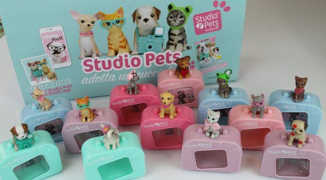 Studio pets, piccoli animali da coccolare e collezionare